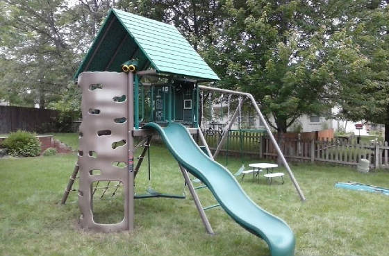 Lifetime Adventure Swing Set Installed By Recreation Installations