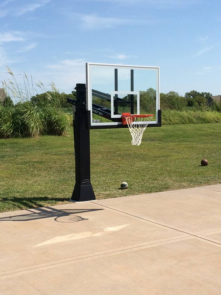 Ironclad Basketball Goal By Recreation Installations Kansas Cit
