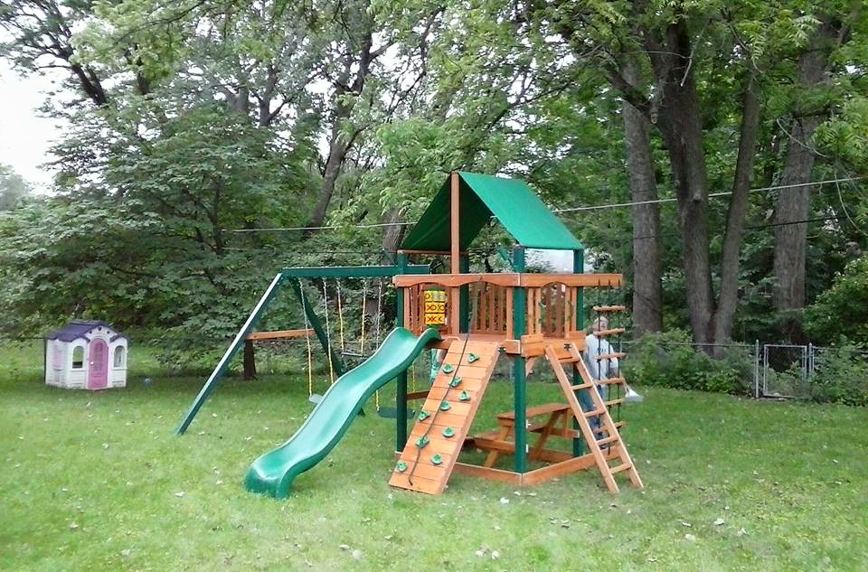 Gorilla swing set assembly by Recreation Installations Kansas City