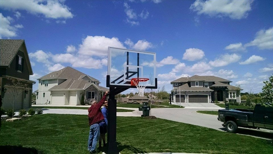 Ironclad Basketball Goals Kansas City By Recreation Installations