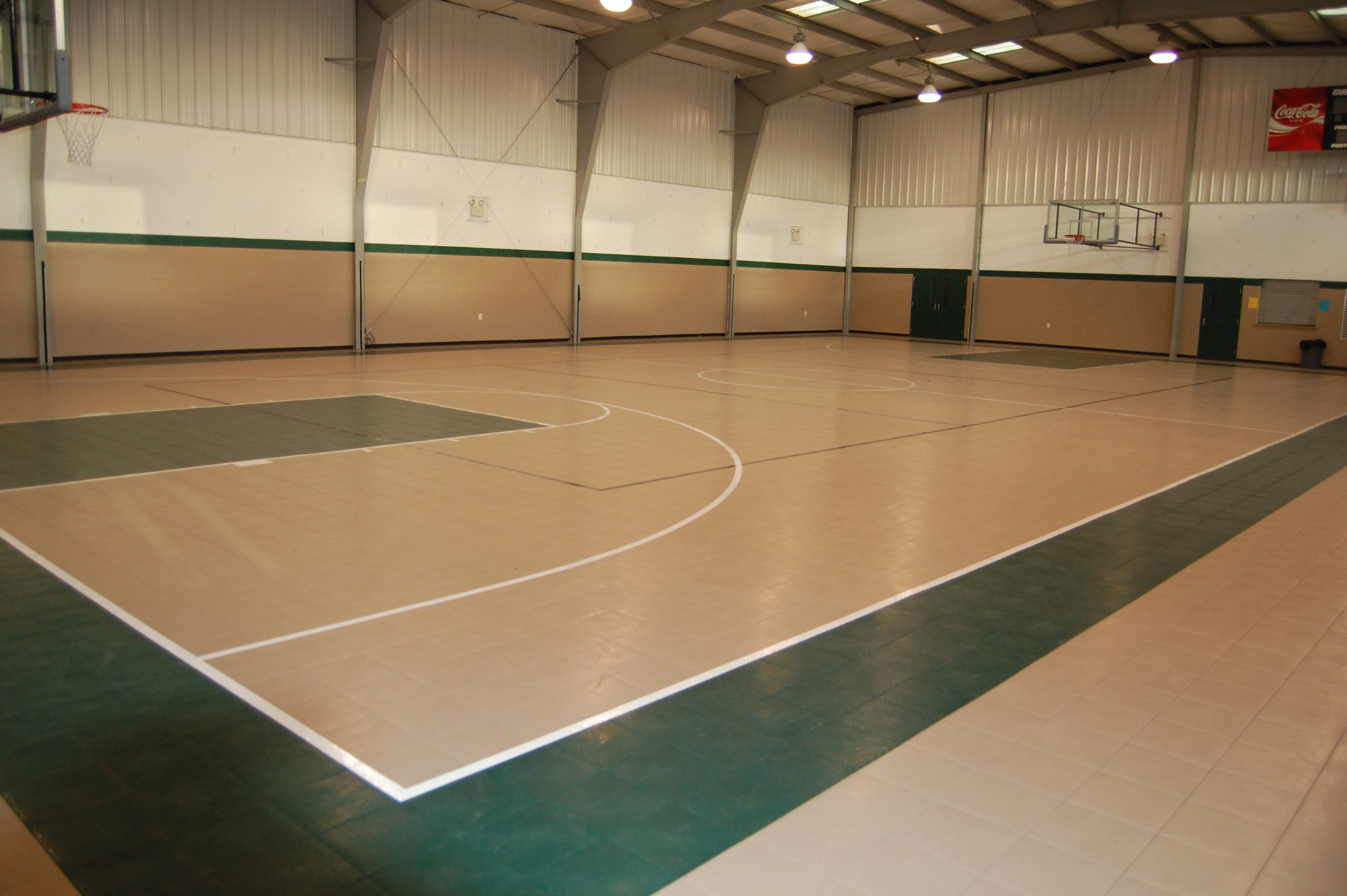 Sport flooring Kansas City by Recreation Installations