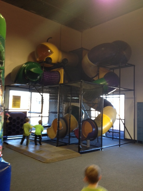 Indoor playground assembly Kansas City by Recreation Installations