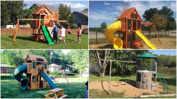 Swing Set Installation All Brands Click Here!
